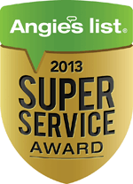 Angie's List Service Award 2013